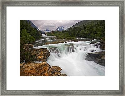 Mountain Paradise Framed Print by Mark Kiver