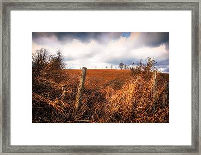 Mountain Pasture Framed Print by Bob Orsillo
