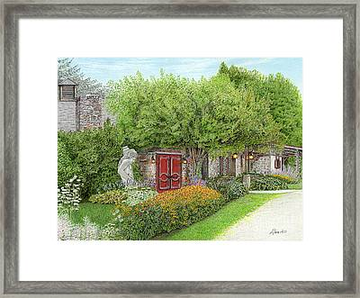 Mountain Playhouse Jennerstown Pa Framed Print by Albert Puskaric