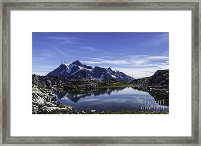 Mountain Pool Framed Print