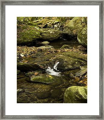 Mountain Pools Framed Print