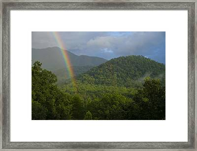 Mountain Rainbow 2 Framed Print