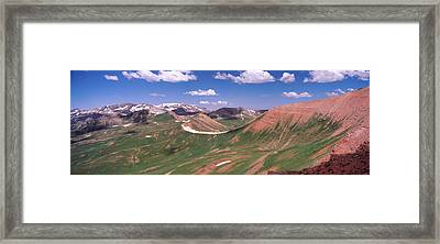 Mountain Range, Crested Butte, Gunnison Framed Print by Panoramic Images