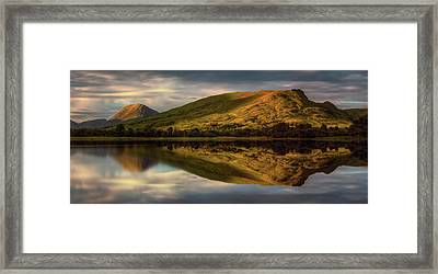 Mountain Reflection In Loch Awe Framed Print by Panoramic Images