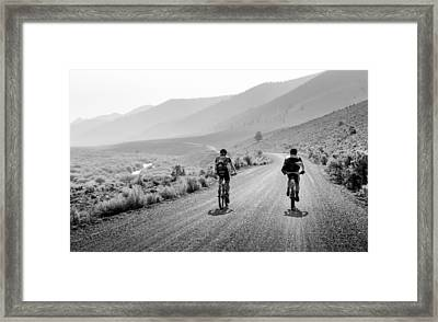 Mountain Riders Framed Print