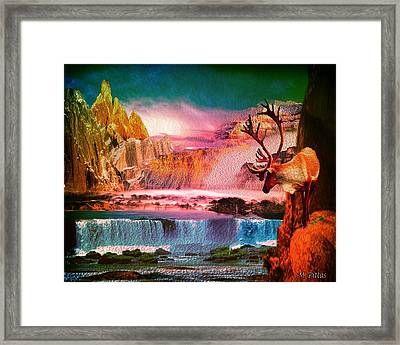 Mountain Scape Framed Print