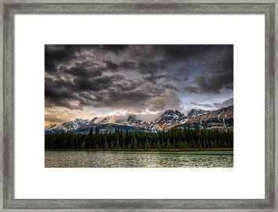 Mountain Scenery Framed Print by Brandon Smith