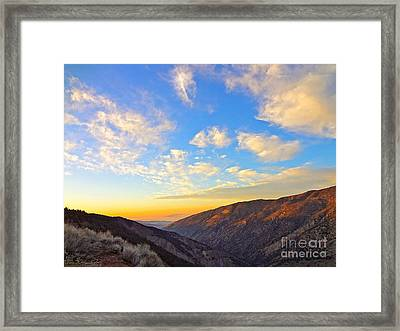 Mountain Soup Framed Print by Gem S Visionary