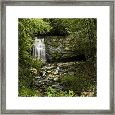 Mountain Stream Falls Framed Print