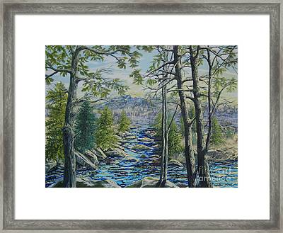 Mountain Stream II Framed Print