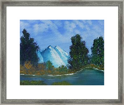 Mountain Stream Framed Print by Jennifer Muller