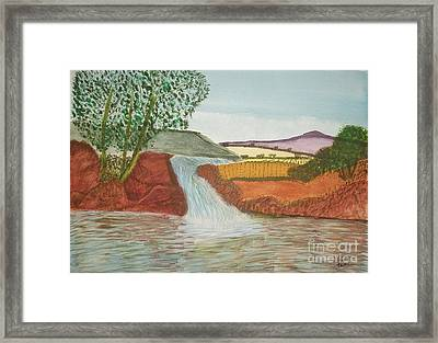 Mountain Stream Framed Print by Tracey Williams