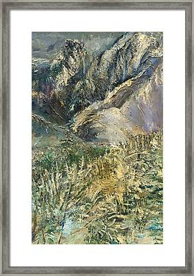 Mountain Summit Framed Print