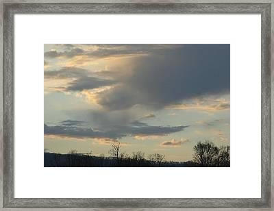 Mountain Sunset Six Framed Print