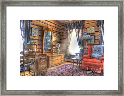 Mountain Sweet Sitting Area Framed Print by Juli Scalzi