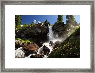 Mountain Tears Framed Print