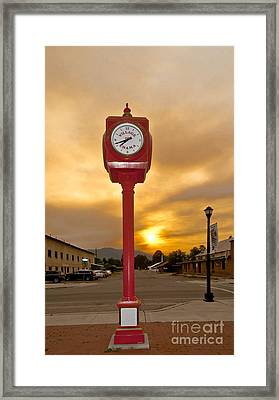 Mountain Time At Chama Framed Print
