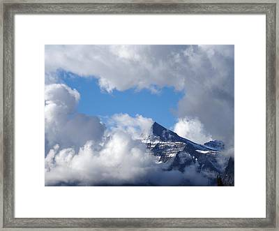 Mountain Top Experience Framed Print