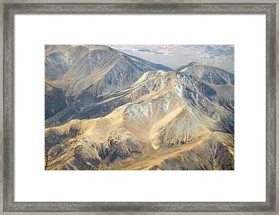 Framed Print featuring the photograph Mountain View 2 by Mark Greenberg