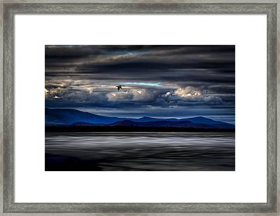 Mountain View - Mt. Katahdin Framed Print by Gary Smith