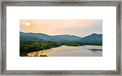Mountain View Framed Print by Frozen in Time Fine Art Photography