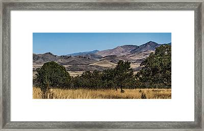 Mountain Vista Framed Print by Beverly Parks