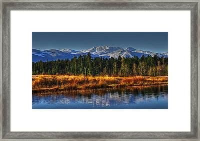 Mountain Vista Framed Print by Randy Hall