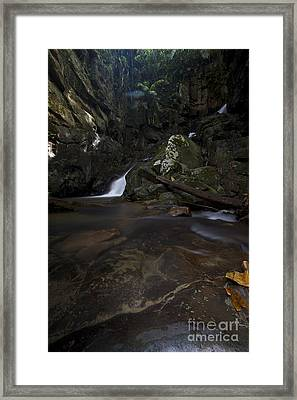 Framed Print featuring the photograph Mountain Waters. by Gary Bridger