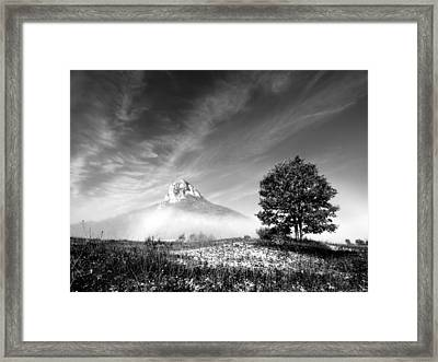 Mountain Zir Framed Print