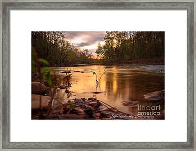 Mountainburg Framed Print