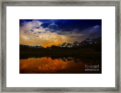 Mountainlake Framed Print