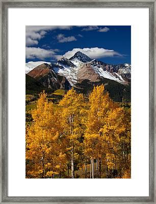 Mountainous Wonders Framed Print