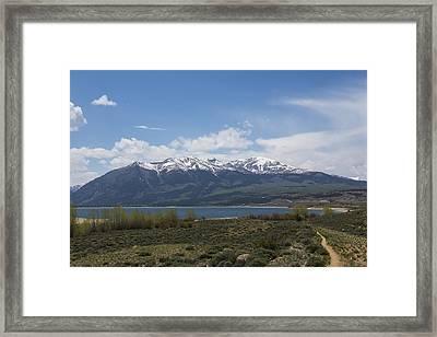 Mountains Co Mt Elbert 1 Framed Print by John Brueske