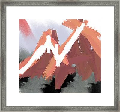 Mountains Framed Print by Condor