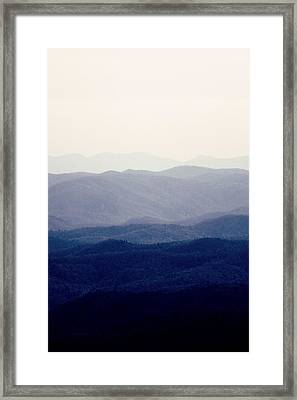 Mountains Framed Print by Kim Fearheiley