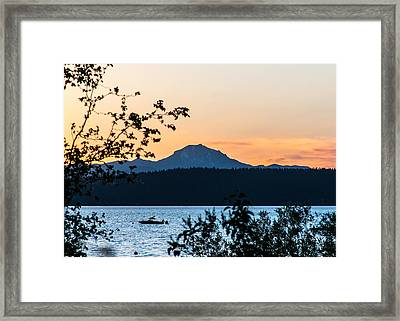 Mountain's Majesty Framed Print by Jan Davies