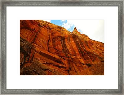 Mountains Of Utah Framed Print by Jeff Swan