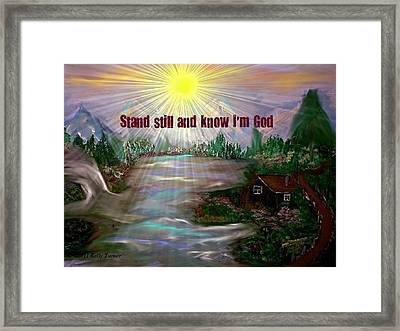 Mountainview Framed Print