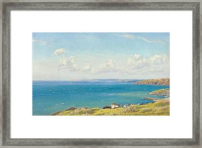 Mount's Bay C1899 Framed Print by Arthur Hughes