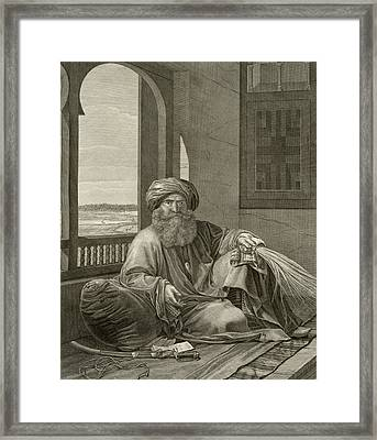 Mourad Bey, From Volume II Costumes Framed Print by Andre Dutertre