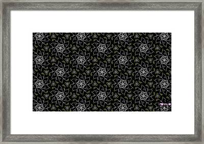 Framed Print featuring the digital art Mourning Weave by Elizabeth McTaggart