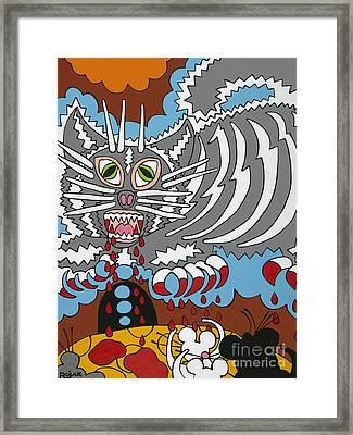 Mouse Dream Framed Print by Rojax Art
