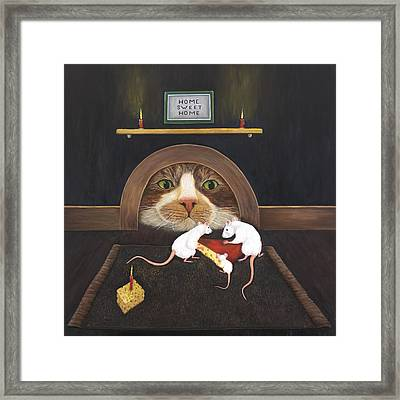 Mouse House Framed Print