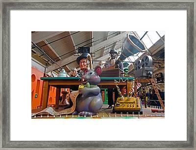 Mouse Jam Framed Print by Cheryl Cencich