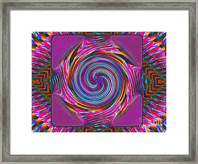 Mouse Pad Framed Print by Bobby Hammerstone