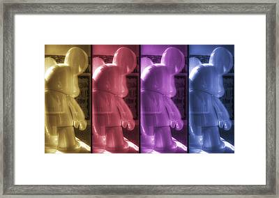 Mouse X4 Framed Print