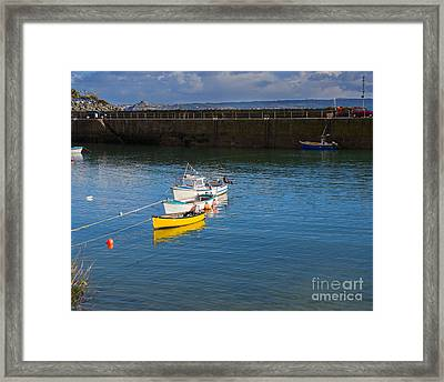 Mousehole Cornwall Framed Print