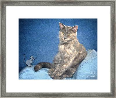 Mousie Framed Print