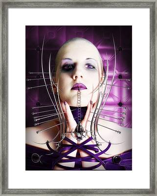 Moust Framed Print by Tsubasa Art