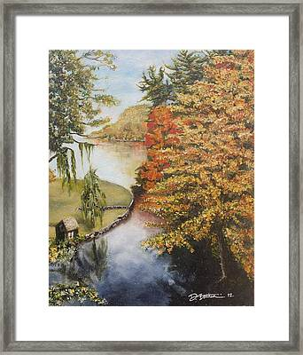 Mouth Of The Susquehanna Framed Print